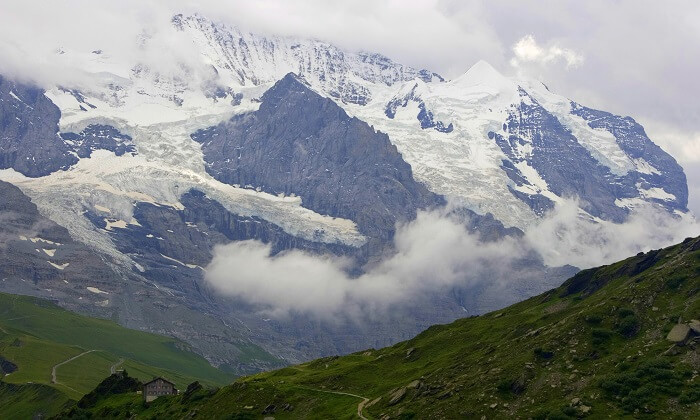 famous view from the hike in switzerland