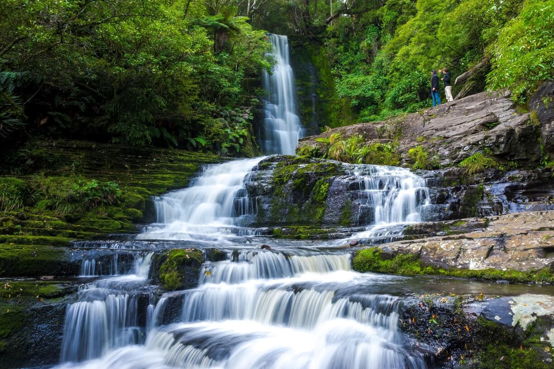 beautiful Mclean Falls