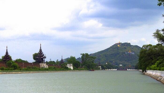 sacred temples and pagodas
