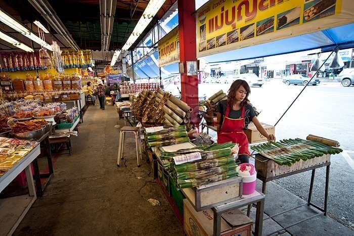 market place in Chonburi