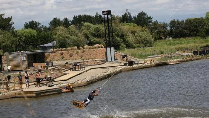 people enjoying in water