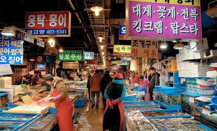 market in Denpasar