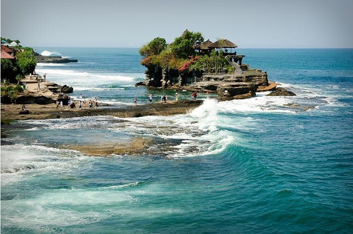 Tanah Lot is a sunset lover's paradise