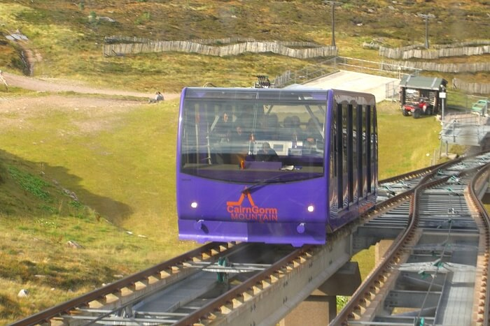 Ride the Cairngorms Funicular