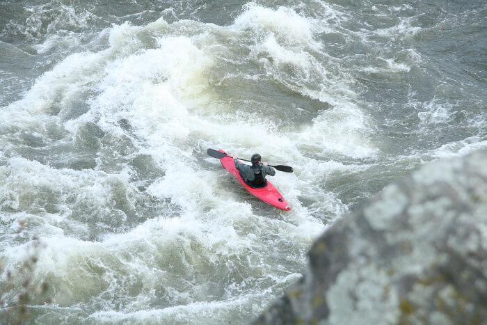 White Water river rafting in Sun Kosi river, Nepal