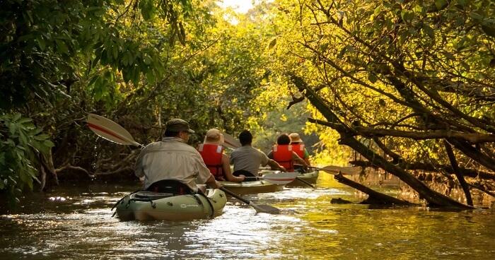 Rucksack Kayaking