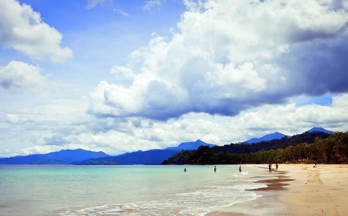 town in Mindoro Island