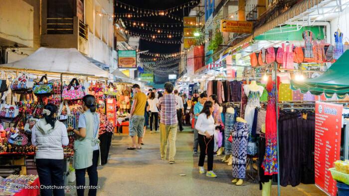 Shopping In Chiang Rai