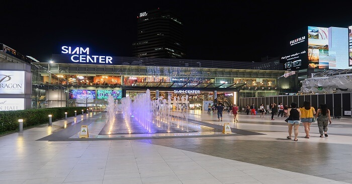 Siam_Center_Night_view_