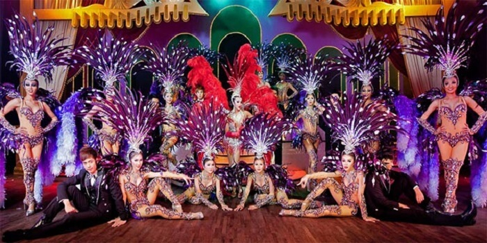cabaret dance show