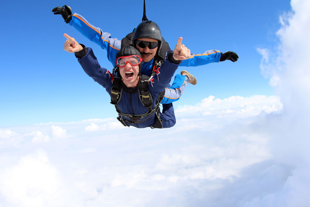 enjoy skydiving