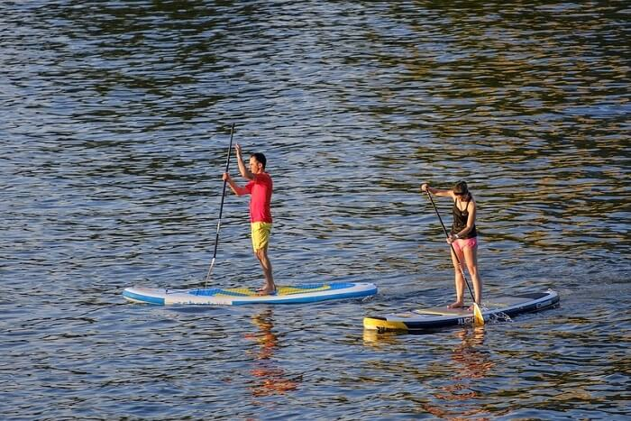 paddleboarding sport in switzerland