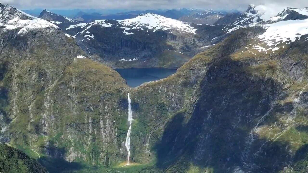 beautiful Sutherland Falls