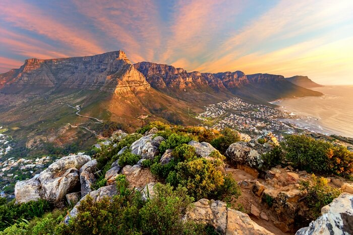 Mountain in South Africa