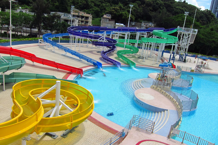 Tai Po Aquatic Centre in Hong Kong