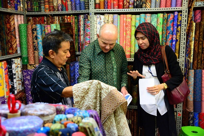 one of the biggest textile markets