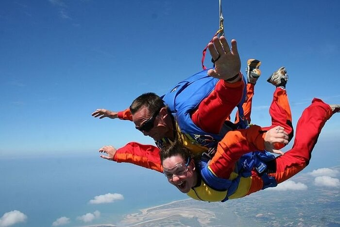 Tandem Skydiving in Thailand