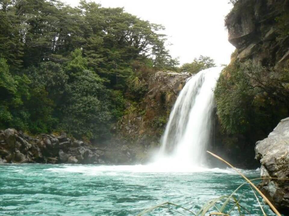 beautiful Tawhai Falls