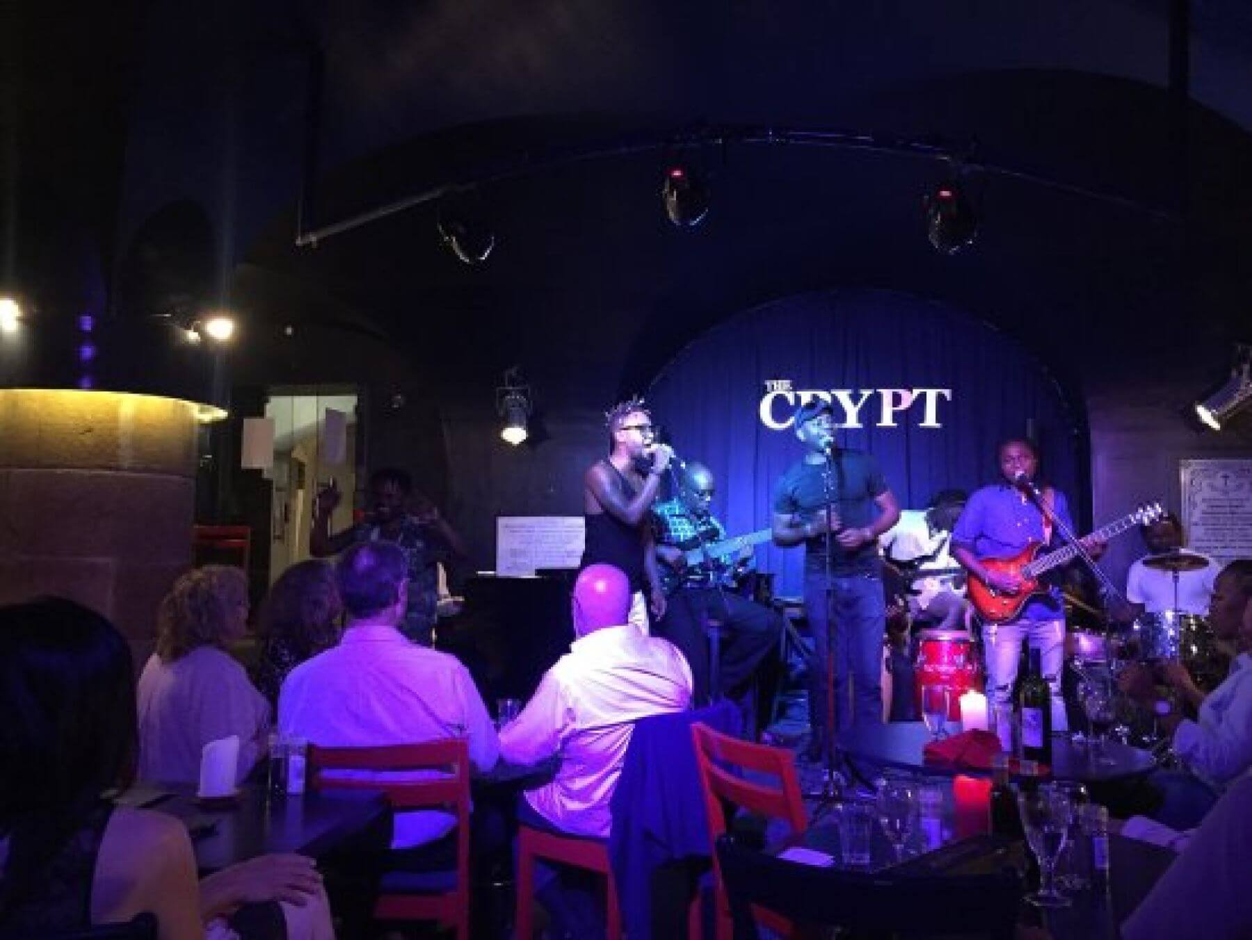 place features live music and Jazz concerts