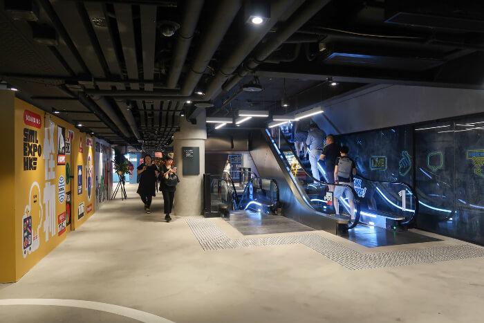 brand new mall in Mongkok