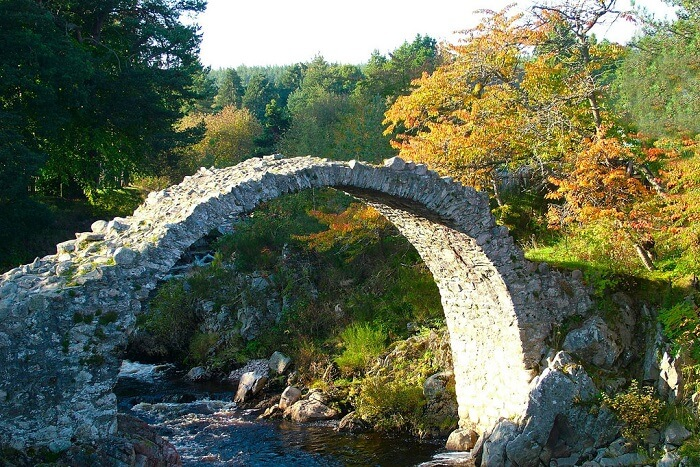 Traverse the town of Aviemore