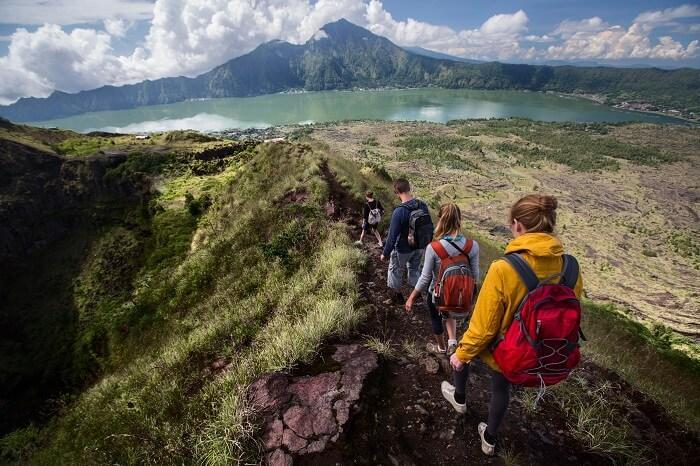 Trekking In Bali Cover