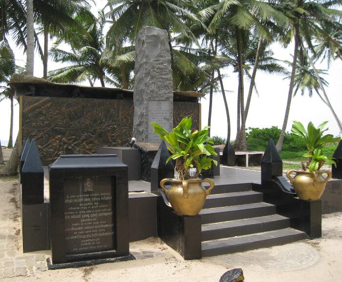 Tsunami Memorial in Yala