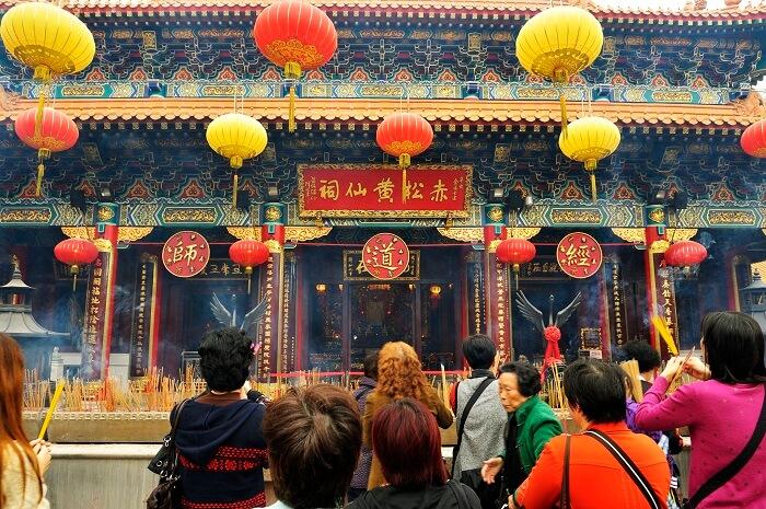 Wong Tai Sen Temple