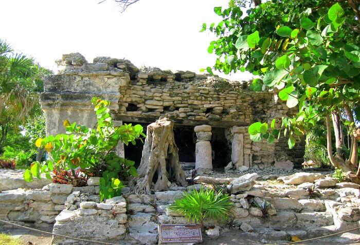 Xaman Ha ruins