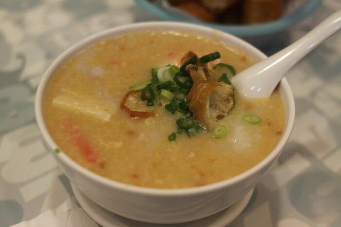 Congee soup