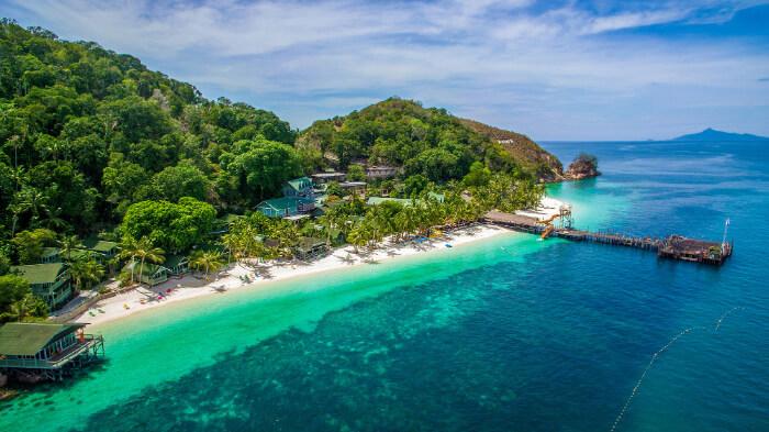 breathtakingly beautiful island