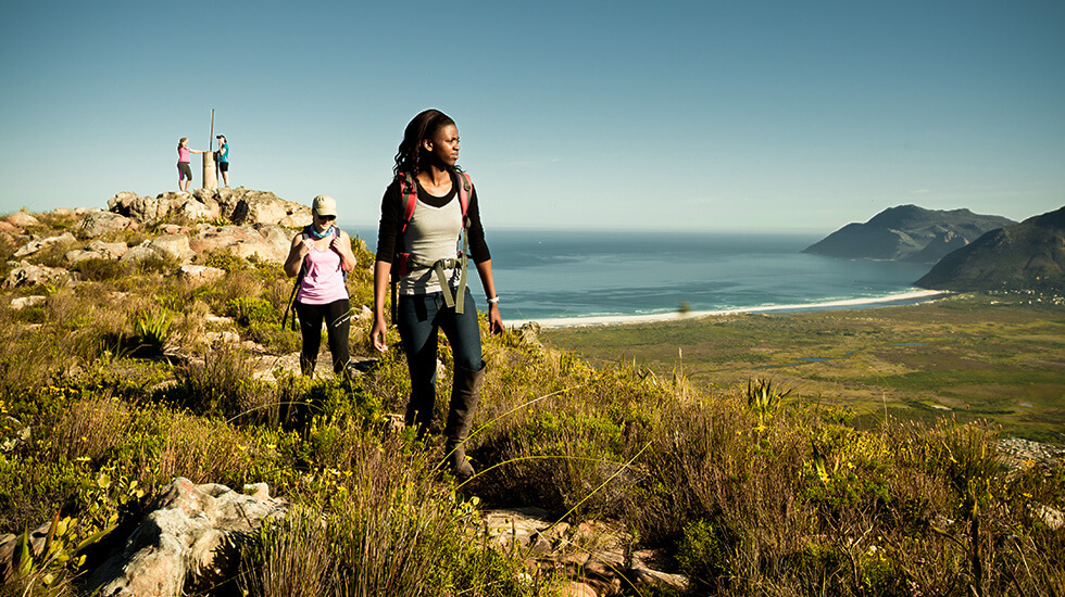 table mountain national park,hiking