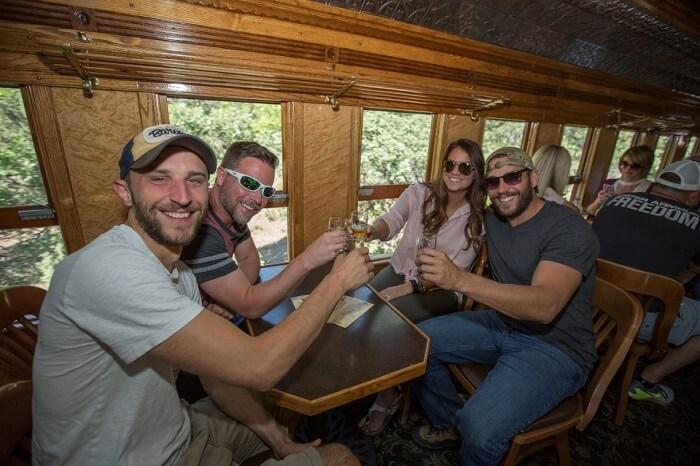 durango beer train