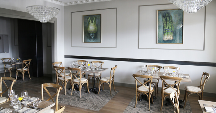 luxury food and facilities