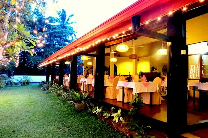 Golden Grill Restaurant in Bentota