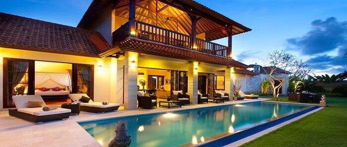some exquisite seaside villas