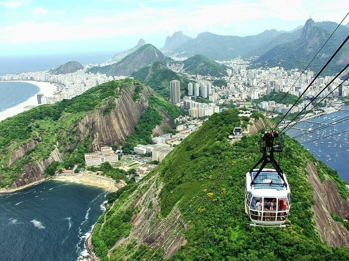 how to reach brazil