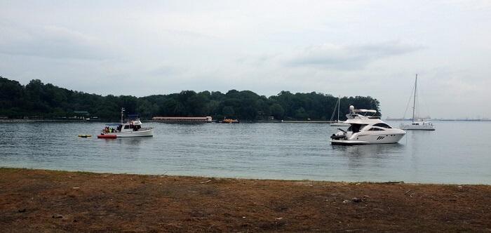 hire a private charter to reach Lazarus Island.