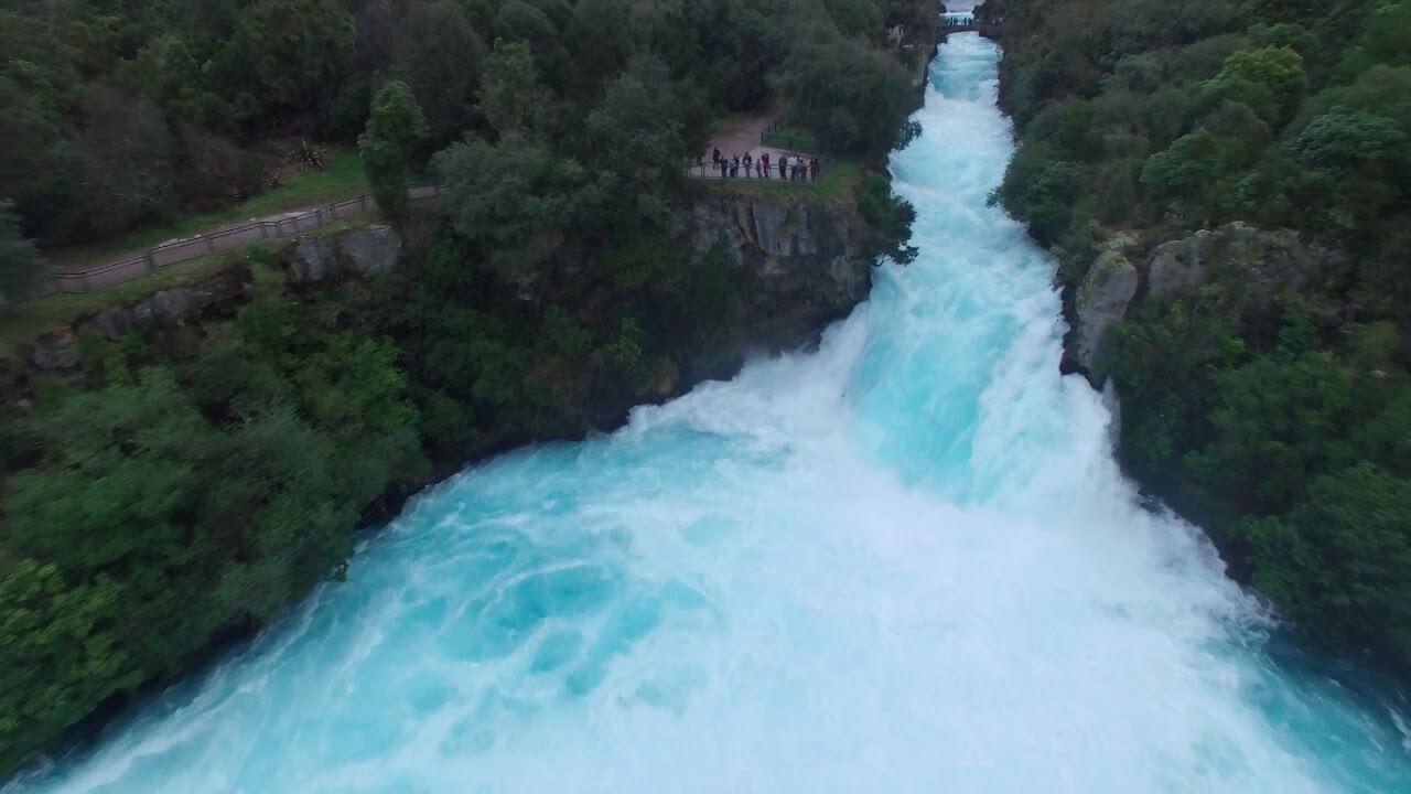 beautiful huka falls