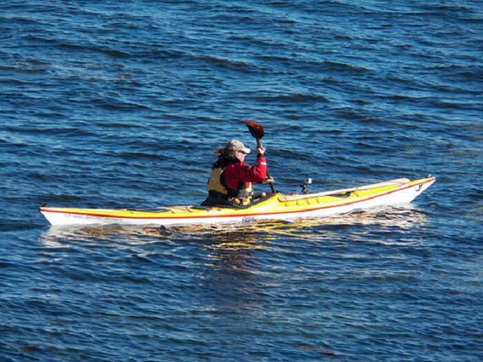sea kayaking at affordable rates