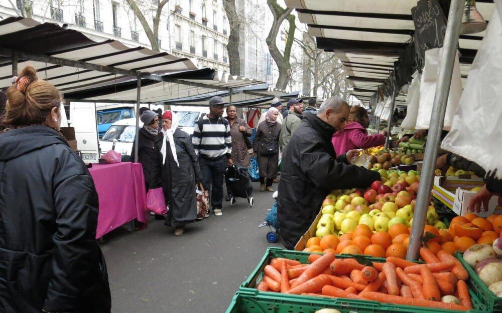 Beleville, market, paris, shopping