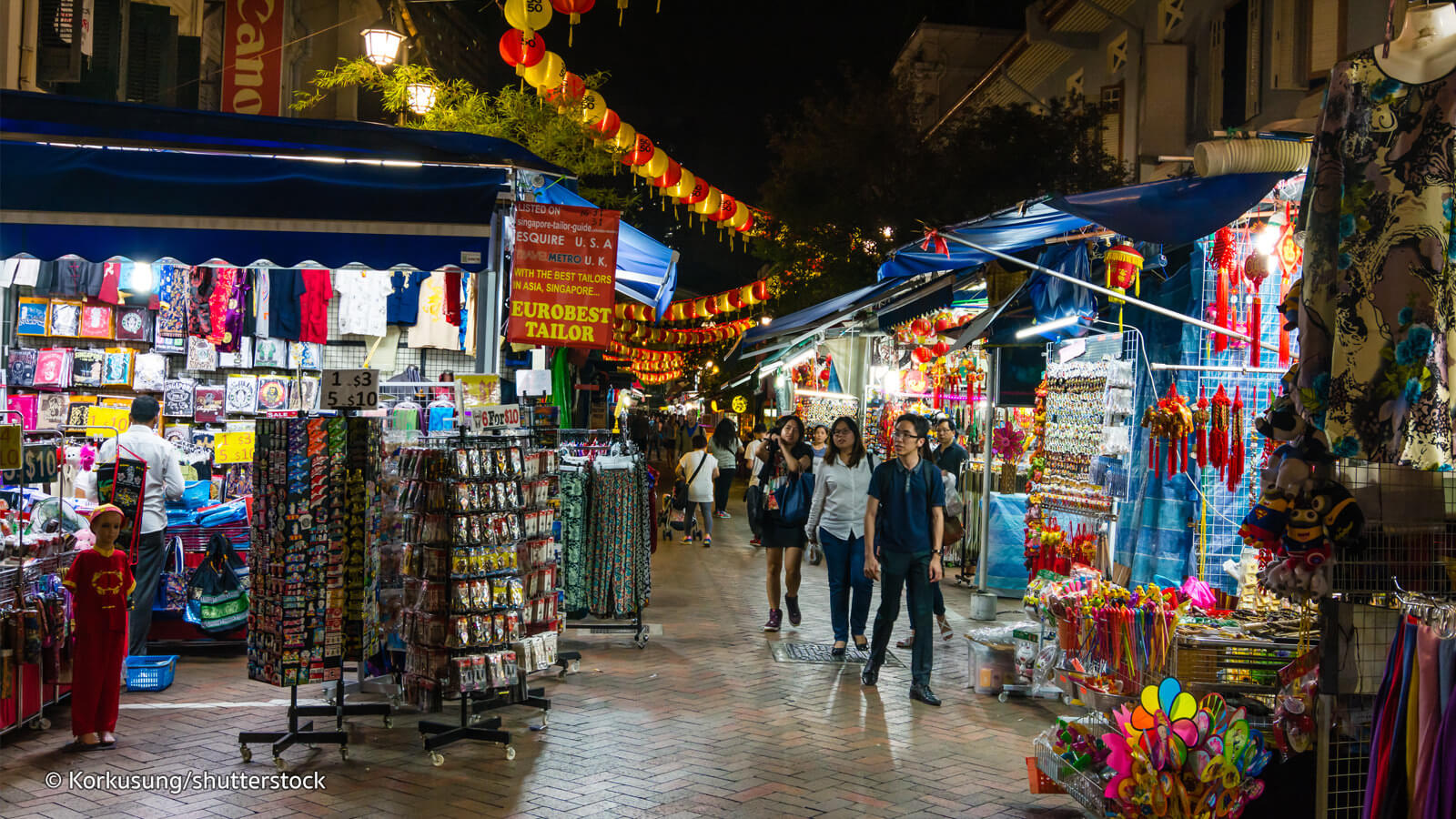 local markets of Singapore
