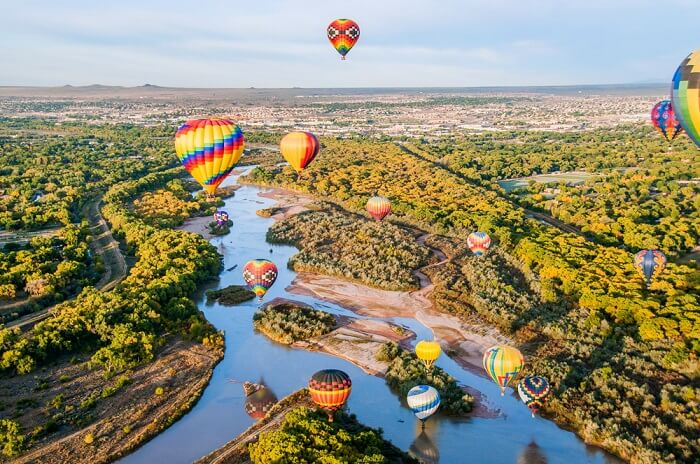 mexico hot air balloon