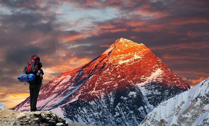 tallest mountain range