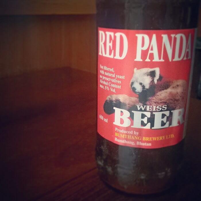 local brewed beer in Bhutan