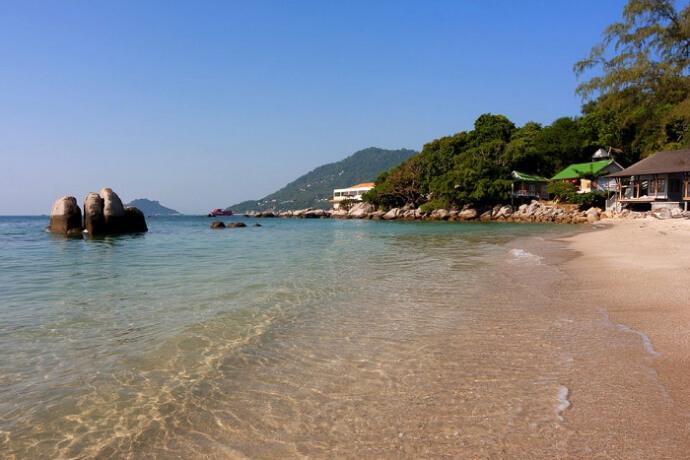 Amazing koh talu beach