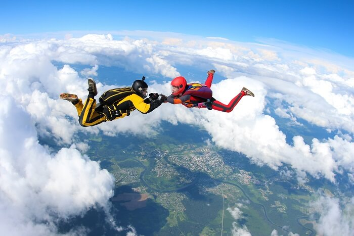 skydiving cover