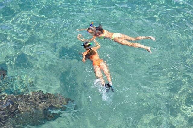 perfect spot for snorkeling