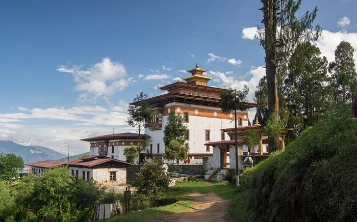 picturesque Punakha valley