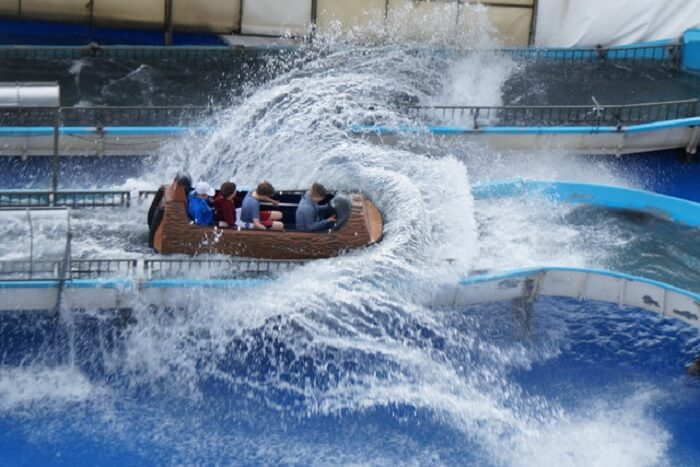 enjoy yourself at the rides